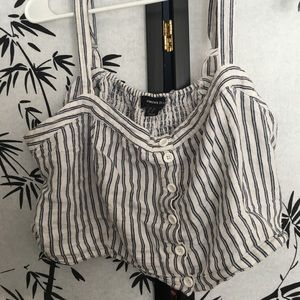 Stripped crop top from forever 21+